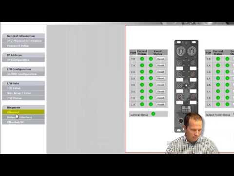 Molex - EIP Harsh IO Block Integration video, Part 2
