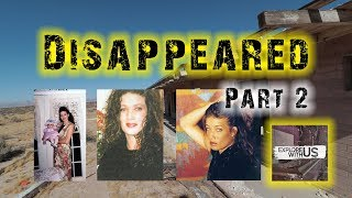 A SHALLOW GRAVE?? The April Pitzer search continues: Part 2 of our missing persons real life mystery
