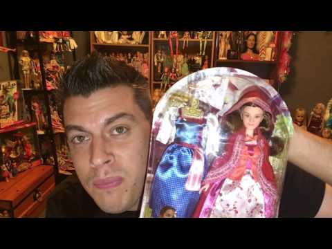 Disney beauty and  the beast hasbro bell fashion collection doll review