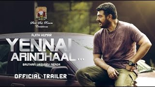 Yennai Arindhaal Official Trailer | Ajith, Trisha, Anushka | Harris Jayaraj