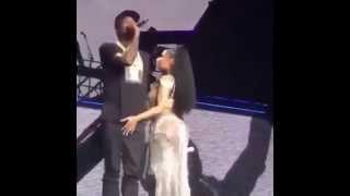 Nicki Minaj Touches Meek Mill's Dick On Stage..