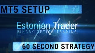 How To Setup MetaTrader 5 - 60 Second Strategy