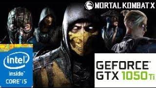 Mortal Kombat X:GTX 1050 TI 4GB i5 4460