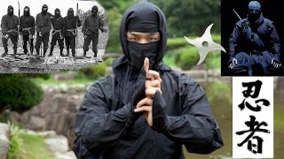 NINJA Ninjitsu - Timeless Assassins in Black: Parkour, Stealth, Training, Weapons!