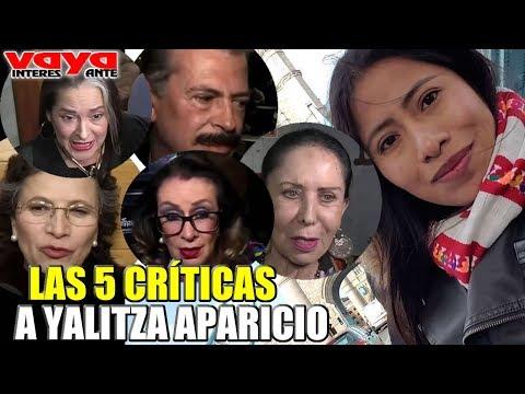 Las 5 críticas más sonadas en contra de Yalitza Aparicio.