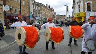 Dhol Tasha In London  Dhol Beats UK Diwali in London 2018  dholbeatsuk