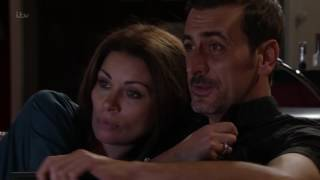 Carla Tells Peter That She Invited Rob To The Wedding - Coronation Street