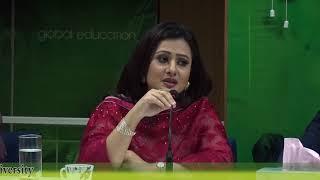 গ্রিন ইউনিভার্সিটির ক্লাসে পূর্ণিমা-ফেরদৌস/ Purnima in Green University class