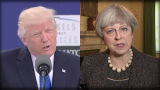 RIGHT AFTER HORRIBLE LEAKS, TRUMP JUST MADE PROMISE TO ENGLAND THAT WILL DESTROY THE LEAKERS!