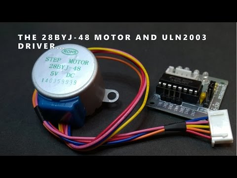 28byj 48 stepper motor and uln2003 driver intro daikhlo for Uln2003 stepper motor driver board tutorial