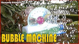 Bubble Maker---How to make Bubble Maker Machine at home.!!!