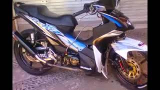 VIDEO MODIFIKASI MOTOR HONDA REVO ABSOLUTE