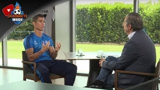 La entrevista exclusiva de Josep Pedrerol a Cristiano Ronaldo, íntegra