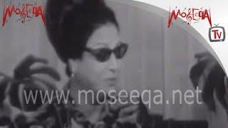 Om Kalthoum - لقاء نادر لكوكب الشرق أم كلثوم - يونيو 1968م