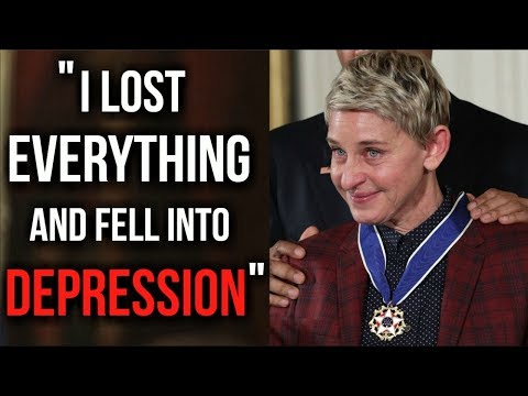 The Motivational Success Story Of Ellen Degeneres How She Beat Depression And Never Gave Up