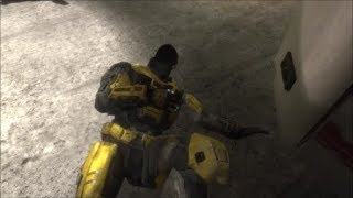 Halo Reach - Noble 6's Face (REVISITED)