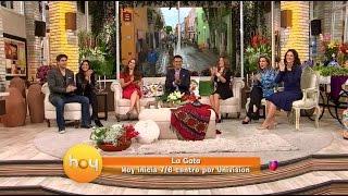 HOY presentamos al elenco de 'La Gata' Daniel Arenas, Maite Perroni Laura Zapata y Erika Buenfil