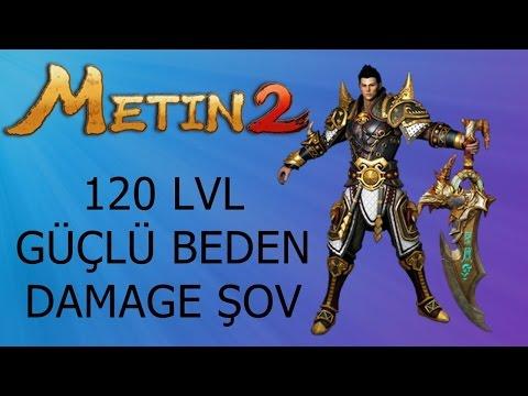 Metin2 120 lvl güçlü beden DAMAGE ŞOV