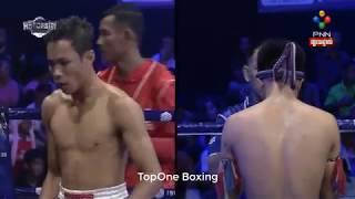 ឡុង សំណាង (Cam) ប៉ះ  ភិតអារុណ (Thai),  Khmer Boxing 2019