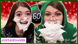 Holiday Minute To Win It Challenge / JustJordan33