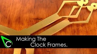 How To Make A Clock In The Home Machine Shop - Part 1 - Making The Clock Frames