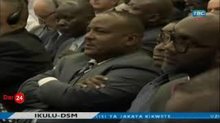 Live Ikulu: Goodluck Gozbert akitumbuiza mbele ya Rais Magufuli, Kikwete