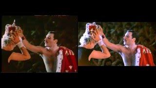 Queen - Live in Budapest 1986/07/27 - VIDEO COMPARISON