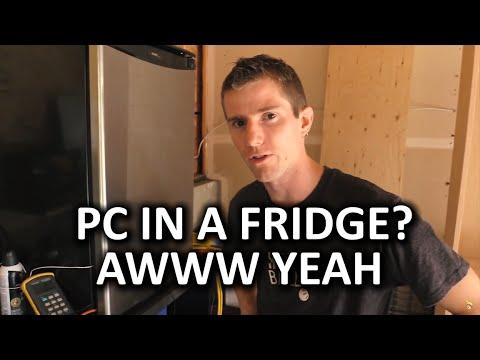 PC Build in a Fridge Does it Work