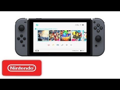 Nintendo Switch HOME Menu