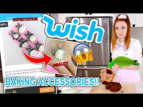 TESTING PRODUCTS FROM WISH EXPECTATION VS REALITY BAKING 2019