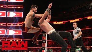 Finn Bálor vs. Elias - Seven-Man Gauntlet Match Part 4: Raw, Feb. 19, 2018