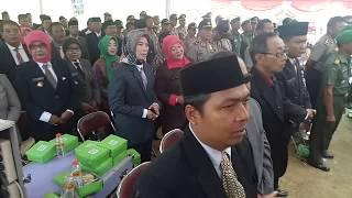 Plt Bupati Klaten Hj Sri Mulyani Lantik 48 Kades di Bukit Cinta Gununggajah