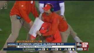 Clemson wins the National Championship