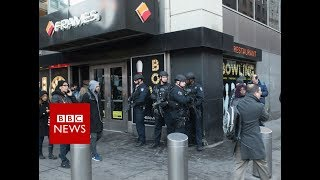 New York Explosion: Suspect in custody - BBC News