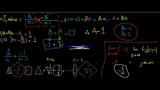 Sum of telescoping series كالكولس 2  بالعربي |شرح سلسلة تليسكوبينغ  بالعربي|