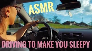 ASMR Gina Carla 😴 Driving to Make You Sleepy!