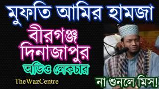 Mufti Amir Hamza Waz In Birganj, Dinajpur.