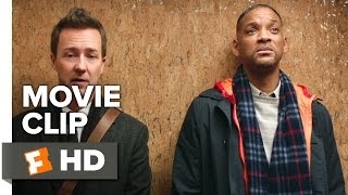 Collateral Beauty Movie CLIP - Rapid Fire Round (2016) - Edward Norton Movie