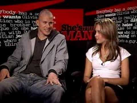 She's the man Interview