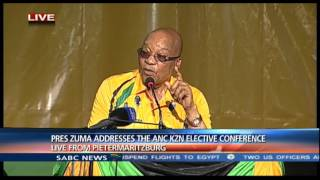 ANC President gives stern warning to members