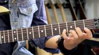 Latihan Fingering Dasar Pada Gitar Bersama Giwe Santos - Gitaris Exentrix Band