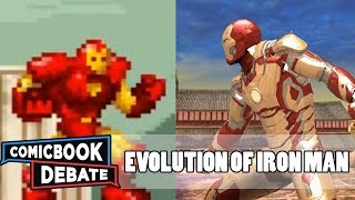 Evolution of Iron Man Games in 3 Minutes (2017)