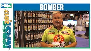 Bomber Jointed Wake Minnow with Pete Ponds | ICAST 2017