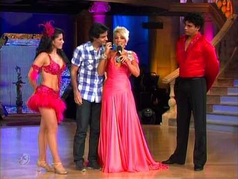 Merengue México Alessandra Rosaldo y Luis David Bailando por un Sueño 2CMB 23 05 10