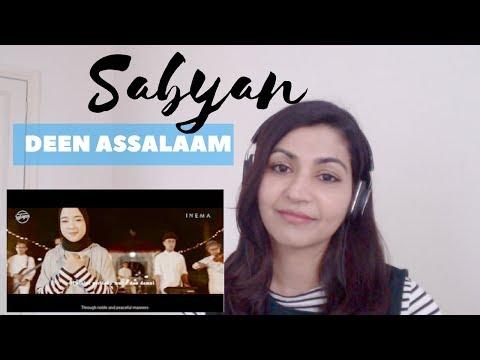 Sabyan- Deen Assalaam (cover) -- Reaction Video!
