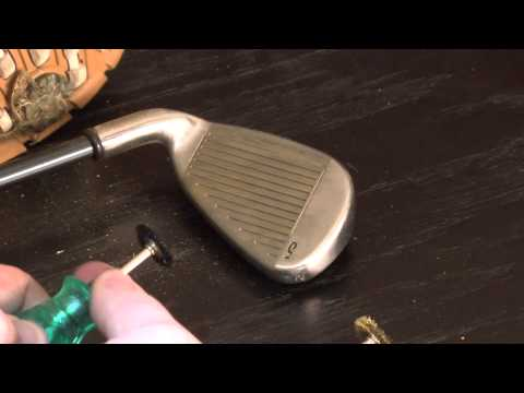 Dremel Golf Club and Equipment Cleaning Tool - Demo 1
