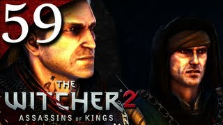 Let's Play The Witcher 2 [BLIND] - Part 59 - Fighting Dethmold and His Men [Roche's Path]