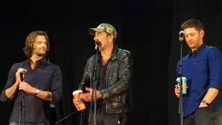 Gold Panel PT 1 Jensen Ackles, Jared Padalecki, Jeffrey Dean Morgan NJ Con 2017