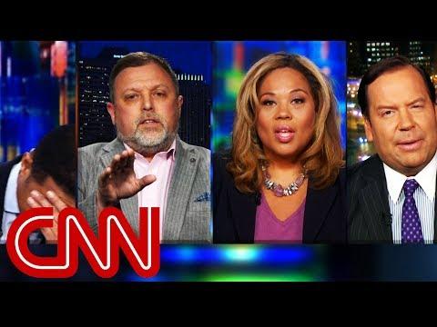Panel erupts over conversation of race Trump