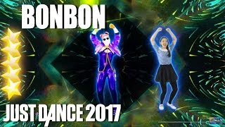 Just Dance 2017: Bonbon - Era Istrefi - 5 Stars full gameplay | Sexy Girld Dance